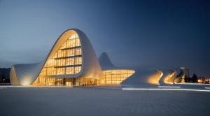 Aliyev Centre-Zaha hadid